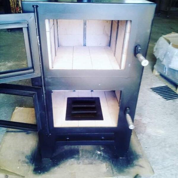 Estufa de chapa robusta Carmen - Metalcon