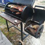 Ahumador asador «Kentucky» 100% artesanal