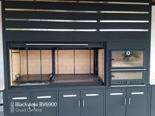 cocina exterior metálica metalcon - 2