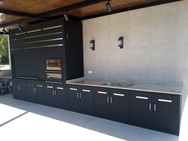 cocina exterior metálica metalcon - 3